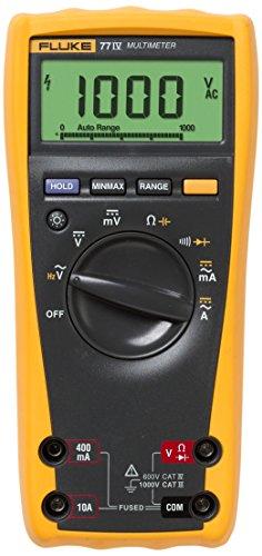 Fluke 77-IV Digital Multimeter, Yellow