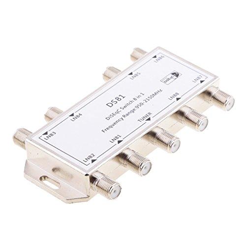 prasku Interruptor Disyuntor Diseqc Antena FTA Interruptor Parabólico para