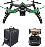 Contixo F20 GPS RC Quadcopter Photography Drone | 5GHz WiFi1080P FHD Gimbal Camera, Follow Me, Follow Me Waypoint 20 Minute Flight Time Brushless Motors