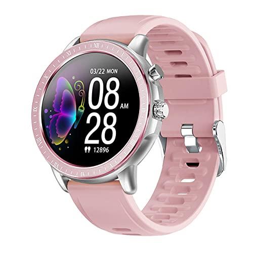 Banda Inteligente Smart Wristband With Heart Rate Monitor Reloj Inteligente Mujeres Hombres Deporte 1.3 'Frecuencia Cardíaca Monitor De Presión Arterial Rastreador De Ejercicios Smartwatch Para Ios