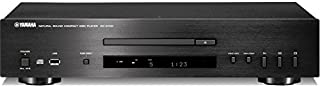 CDS700B YAMAHA CD Player with USB Port Yamaha CD-S700B Black Superior Loading Mechanism with Superior Quietness and Precision CD Drive, Differential D/a Converter