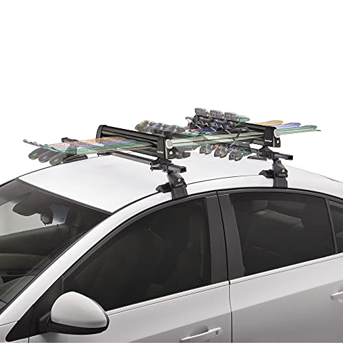 SportRack Groomer Deluxe Ski Carrier, Black