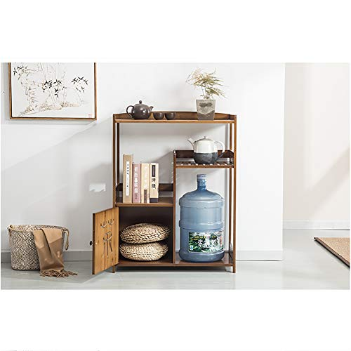 XXzhang theeset van hout thee set thee tabel opslag plank met een lade en een kast
