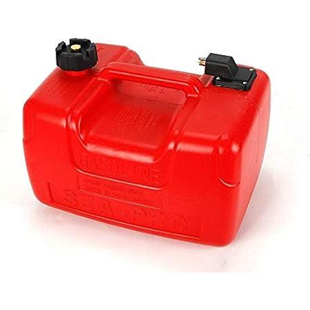 Difu 12 L 3 Gallon Kraftstofftank Ersatzteile Kanister Benzintank Außenborder Tank Mit Kraftstoffanschluss Bootstank Neu Sport Freizeit