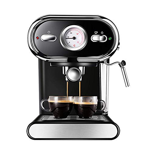 Domestic koffiemachines, Koffiezetapparaat Koffiemachines Home Office Semi-automatische koffiemachine met Steam melkopschuimer 20 bar High Pressure Extraction Visual Temperature Control 8bayfa
