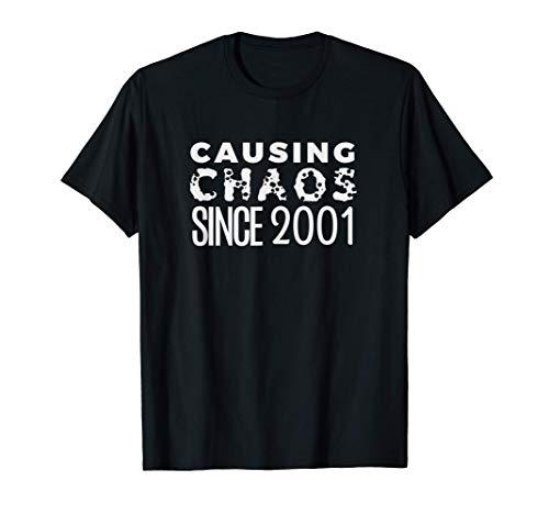 Humor 2001 Bday Funny 20 Year Old 20th Birthday Women Men T-Shirt