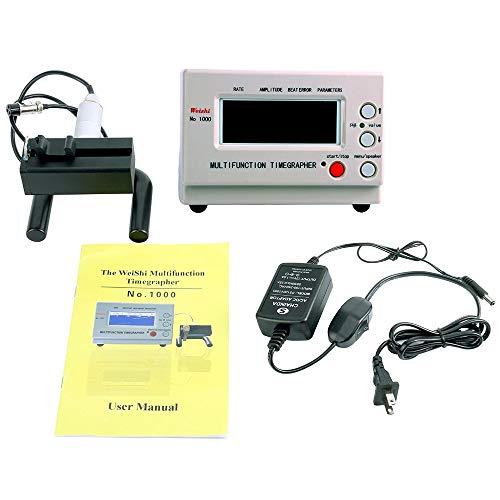 Multifunktions Timegrapher, AC220V MTG Mechanische Uhr Tester Timing Multifunktions Timegrapher LCD-Bildschirm NO.1000