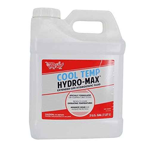 Grasshopper Mower 2-Gallon CoolTemp Hydro-Max Fluid, Advanced Protective Shield Eliminates The Need for Break-in Fluid Changes and Significantly Extends Fluid and Filter Service Intervals, OEM 345046