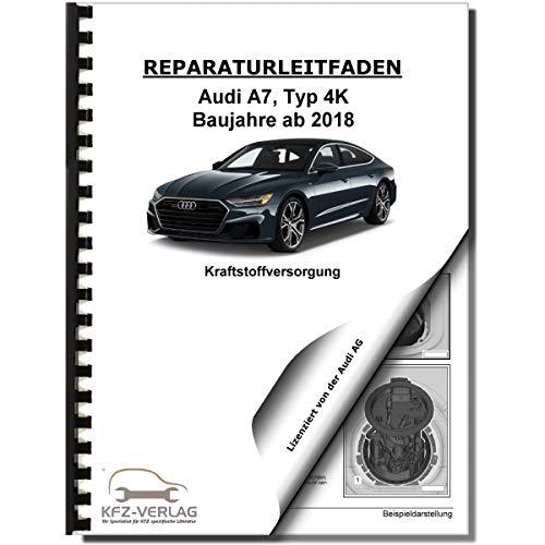 Audi A7 Typ 4K ab 2018 Kraftstoffversorgung Aufbereitung Reparaturanleitung
