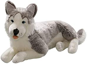 Carl Dick Husky 23.5 inches, 60cm, Plush Toy, Soft Toy, Stuffed Animal 2703