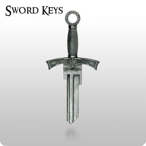 Sword Keys Sword House Key Blank Medieval Sword Key for Kwikset House Locks KW10 KW1