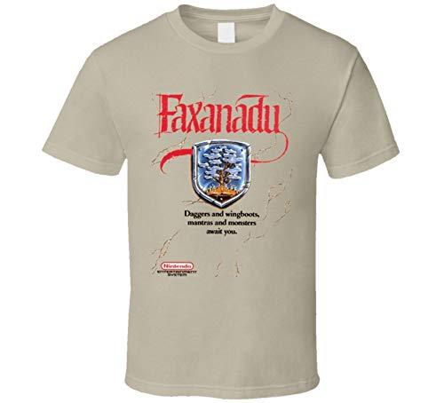 GDZZLA Faxanadu Classic NES Box Art Men