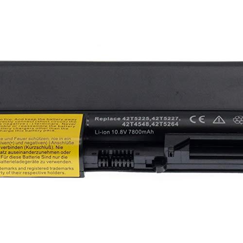 BTMKS 9 Zellen 7800mah Notebook Laptop Akku für Lenovo IBM ThinkPad T61 T400 R61 7732 7733 7734 7735 7736 7737 7738 7742 7743 7744 7751 7753 7754 R61i R400 7443 14.1