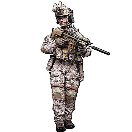 Batop 1/6 Soldat Modell, 12 Zoll US Special Forces Soldat Actionfigur Modell Spielzeug Figuren Militär Soldat Modell - DEVGRU