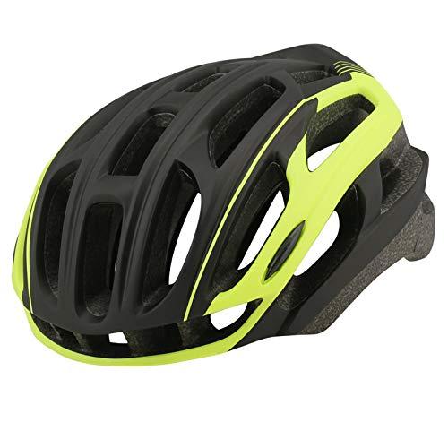 HVW Adultos Bicicletas para Bicicletas Cascos, Cascos De Montaña Cascos con Alumno De Seguridad Luz Trasera De Una Pieza Moldeado De Una Pieza Tamaño Ajustable Unisex Protected Cycle Casco,B