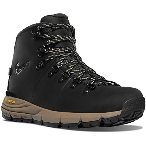 "Danner Women's Mountain 600 4.5"" Jet Black/Taupe 200G Hiking Boot"