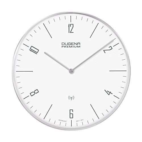 DUGENA Wanduhr Dessau 7000997, Funkuhrwerk, Metallgehäuse, ø 32 cm