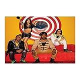 The Black Eyed Peas 23 Leinwand-Poster, Wandkunst, Deko,