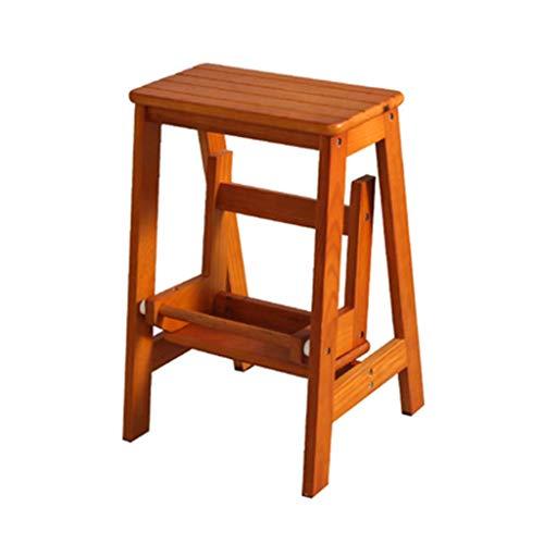 JPL Taburetes para el hogar, taburete plegable multifunción para el hogar, silla de escalera, escalera de 2 escalones, zapatero, estante para flores, taburete para la cocina (4 colores, tamaño: 38 ×