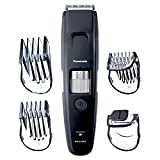 Panasonic Long Beard Trimmer for Men, 58 Length Settings and 4 Attachments for Cutting and Detailing, Cordless or Corded Operation – ER-GB96-K (Black)