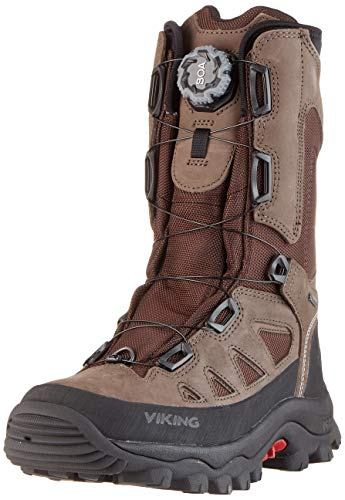 viking Herren Villrein Boa GTX Jagdstiefel, Braun (Dark Brown/Red 1810), 47 EU