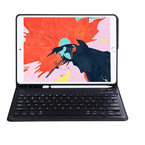 Funda con Teclado para iPad 10,2 2020/2019 Color Funda...