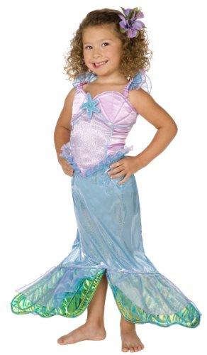 Déguisement sirène enfant fille - Violet - 128 (5-7 ans)