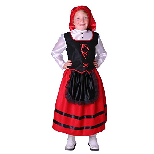 Disfraz de pastora para niña - 7 - 9 años