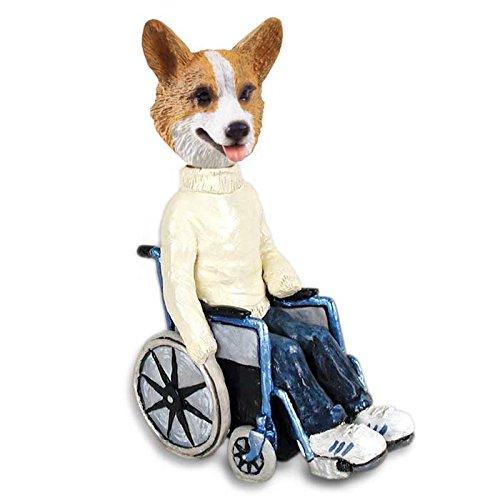 Conversation Concepts Welsh Corgi Pembroke Wheelchair Doogie Collectable Figurine