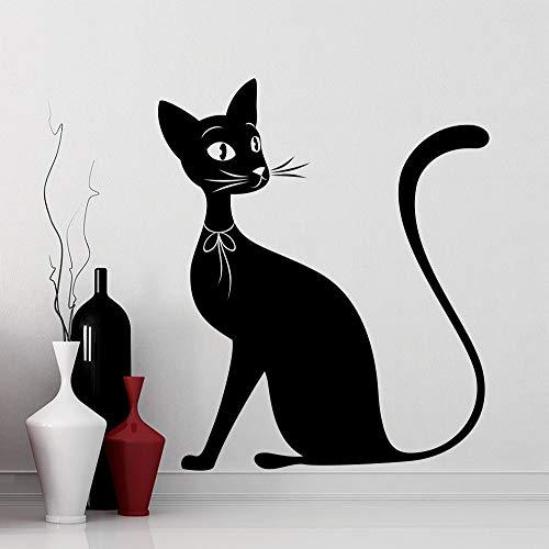 Tianpengyuanshuai Whole Black Silhouet Wall Sticker Kids Children Bedroom Sweet Decoratieve Animal Series Wall Sticker