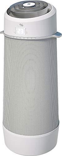 AEG PX71-265WT Eco mobiles Klimagerät (Spiralförmiger Luftstrom, App-Steuerung, Spracherkennung, Fernbedienung, inkl. Fenster-Kit, Kühlen, Heizen, Ventilator, Entfeuchten, Automatik, weiß/silber)