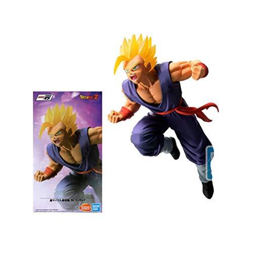 Luck7DZ Son Gohan Super Saiyan 2 Figura Bola de dragón Z de colección y decoración de la Figura