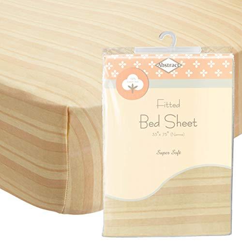Abstraktes Spannbettlaken aus weichem Jersey, bequem, tiefe Tasche für Kinderbett und Doppelbett-Matratzen 33