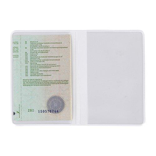 Identificación carpeta ausweis móvil – Porta Documentos DNI funda ausweis Monedero ausweis papel