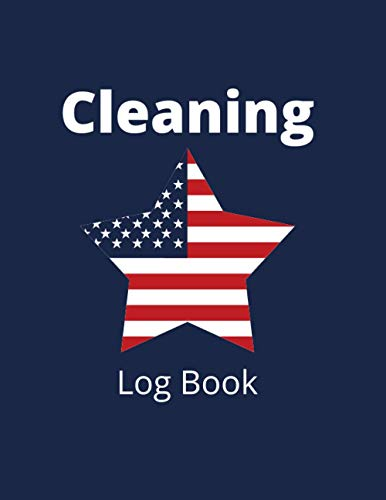 """Cleaning Log Book: NL Subtitle Tracking Register to Record Cleaning Details as Required for Health & Safety - Designed For Offices, Café, Restaurants ... star Design Soft Cover (8.5""""x11"""" 120 pages)"""