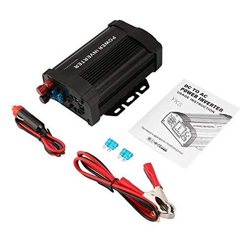 Hongyan P-Series 1000 W inversor de corriente de coche portátil DC12V a AC110V cargador modificado adaptador convertidor de corriente para TV reproductor de DVD