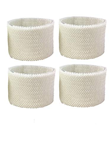 Air Filter Factory 4 Pack Compatible Replacement for Emerson MA-0600, Kenmore MA-0800, MA-80000, MAF2 Humidifier Wick Filters