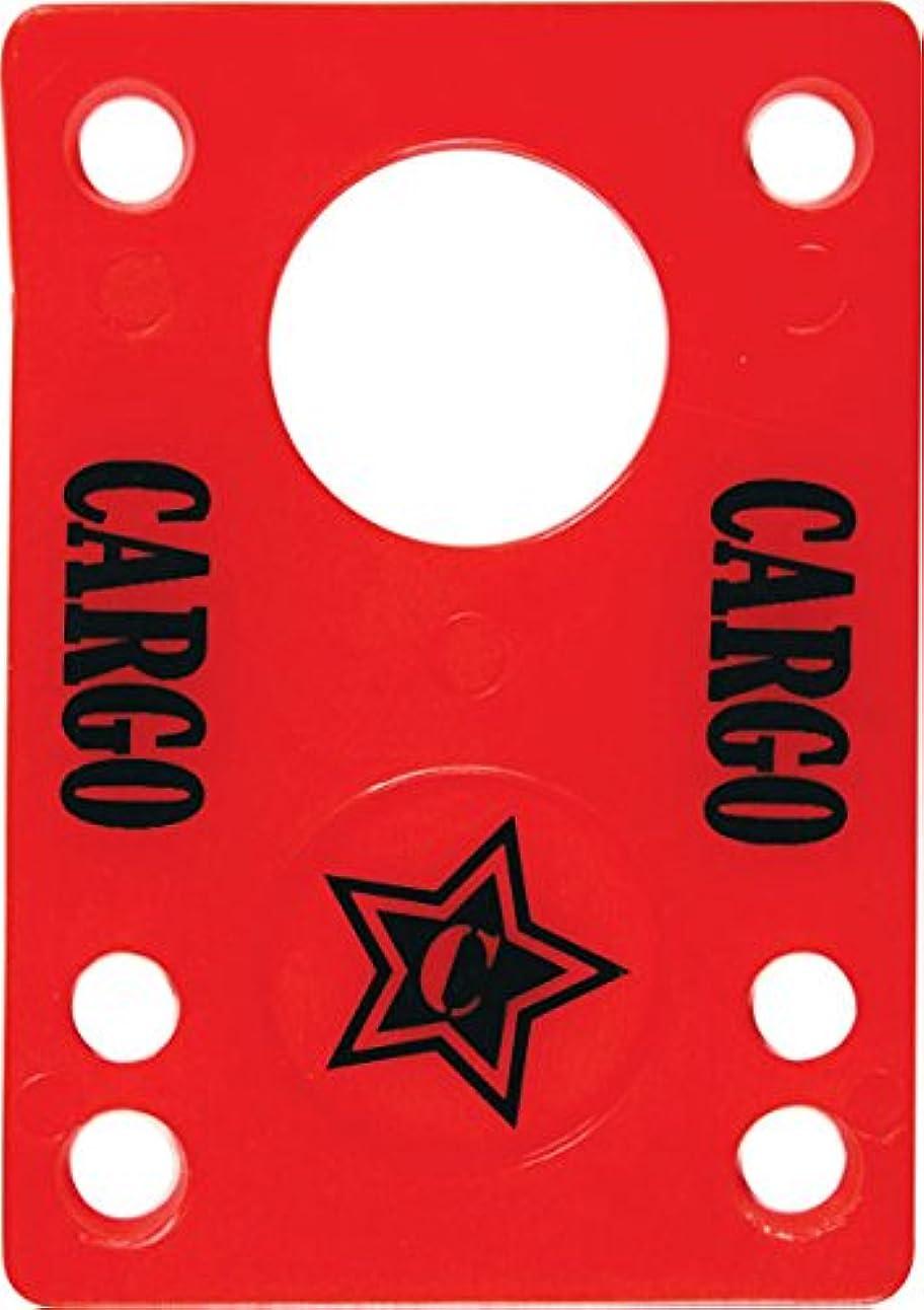 グリーンランド程度予想外Cargo Shock Pad 1/8 Red Single by CarGo