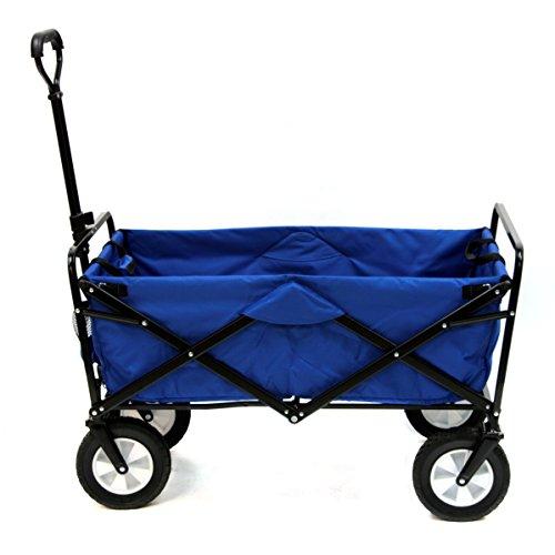Mac Sports WTC-111 Outdoor Utility Wagon, Solid Blue