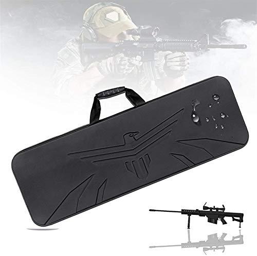VULID Estuche de pistola táctica, estuche de arma con fuerza para impermeables y resistente a los arañazos, mango de goma, base resistente al desgaste, riffle de aire para rifle, entrenamiento táctico