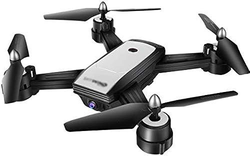 BNMZXNN X34 Vierachsen-Drohne, Gestenfotostreamer, der Fernsteuerungsdoppelkameraflugzeuge, Flugzeuge HD positioniert,Weiß-30  5  30cm