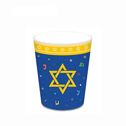 FQYYDD Vajilla desechable desechable taza plato vajilla fiesta de cumpleaños Navidad decorado plato.