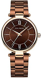 Mini Focus Dress Watch For Women Analog Stainless Steel - F0189L