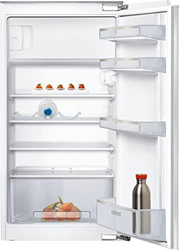 Siemens KI20LNFF1 iQ100 Einbau-Kühlschrank mit Gefrierfach / F / 185 kWh/Jahr / 159 l / freshBox / LED Beleuchtung / safetyGlass Ablagen