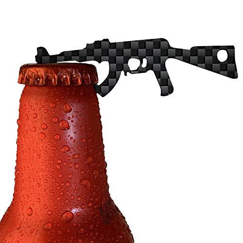 Bueda Kapselheber, Flaschenöffner, Barkeeper Bierflaschenöffner, Bottle Opener, Bieröffner, Küchenhelfer & Grillzubehör (2 Stück)