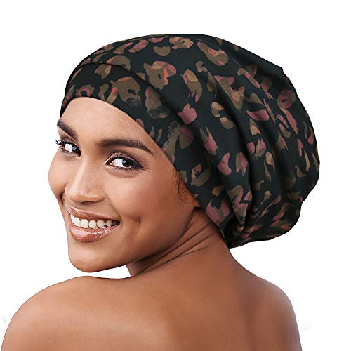 Alnorm Soft Satin Lined Beanie Cap for Men & Women Casual Turban