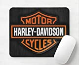 Harley Davidson <span class='highlight'>Motorcycle</span> Logo Laptop Desktop Computer <span class='highlight'>Mouse</span> Mat <span class='highlight'>Pad</span> 5mm Thick