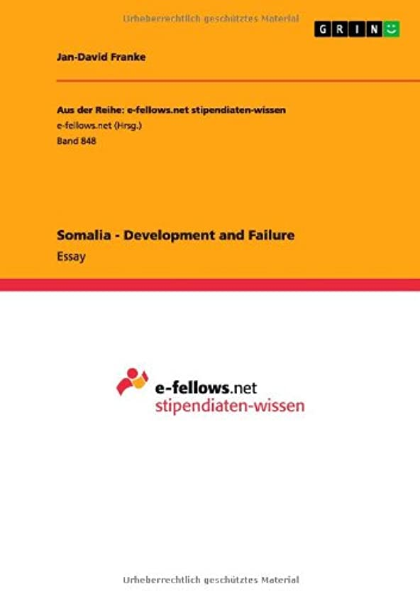 Somalia - Development and Failure