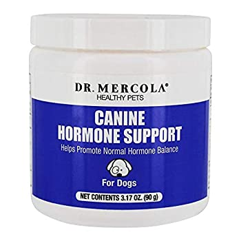 Dr Mercola Canine Hormone Support for Dogs 3.17 oz  90 g  Helps Support Natural Hormone Balance Non GMO Soy-Free Gluten Free