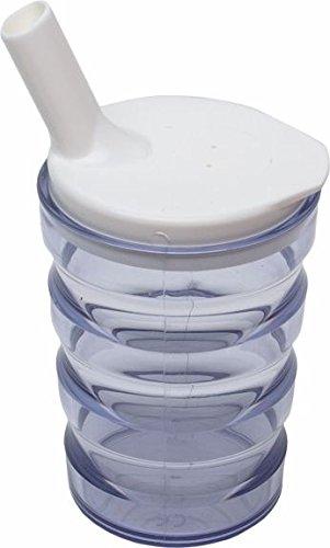 Pflegehome24® Trinkbecher - auslaufsicher - 1 Stück (transparent)